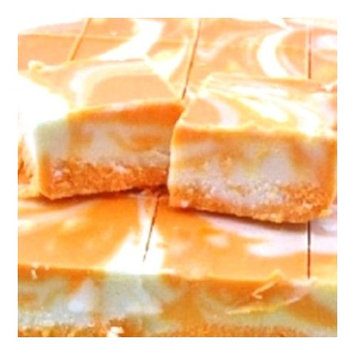 Home Made Creamy Dreamsicle Fudge - 1 1/2 Lb Box [Dreamsicle]
