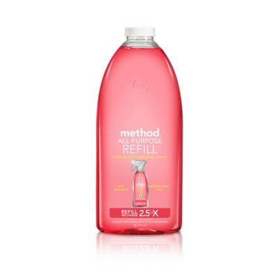 method all purpose cleaner refill pink grapefruit