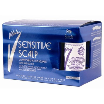 Vitale Sensitive Scalp Conditioning No‑lye Relaxer Kit