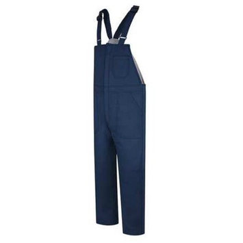 Bulwark Deluxe Insulated Bib Overall, Excel FR ComforTouch, NAVY, RGS