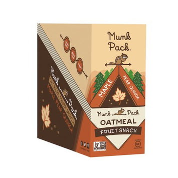 Munk Pack Maple Pear Quinoa Oatmeal Fruit Squeeze Pouch