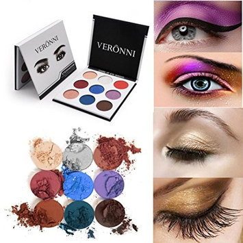 Jinjin Matte Colorful Eyeshadow Eye Shadow Press Powder Cosmetics Makeup Long Lasting
