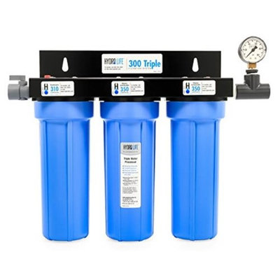 Camco 52644 300 Series Hydro Life 300-Triple Filtration System