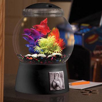 Aqua Culture 1.5-Gallon Gumball Aquarium with LED Lighting, 9