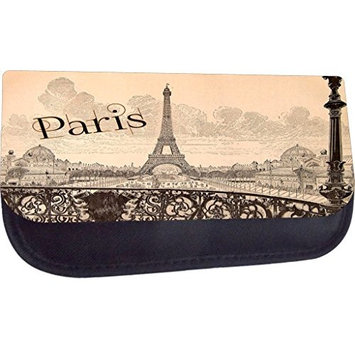 Rosie Parker TM Medium Sized Cosmetic Case-Made in the U.S.A.- Paris Street-Style
