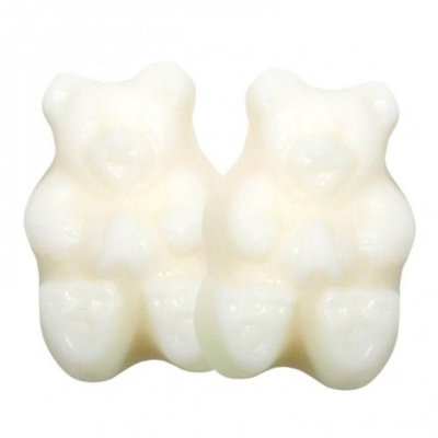 Albanese Confectionery Albanese White Strawberry Banana Gummy Bears, 10LBS