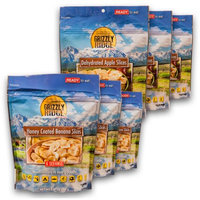 Grizzly Ridge Fruit Variety Snacks, (Pack of 6)