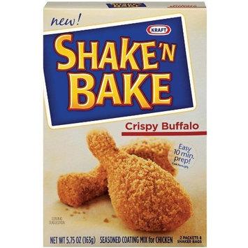 Shake 'N Bake Crispy Buffalo Seasoned Coating Mix (4.75 oz Boxes, Pack of 8)