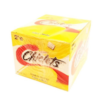 Canels-clorets-adams Adams Gum 100 x 2 units - Chiclets (Pack of 6)