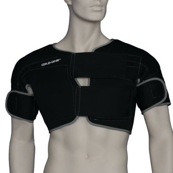 Double Shoulder Ice Compression & Hypothermia Wrap (Large (160-215 lbs)) by Cold One