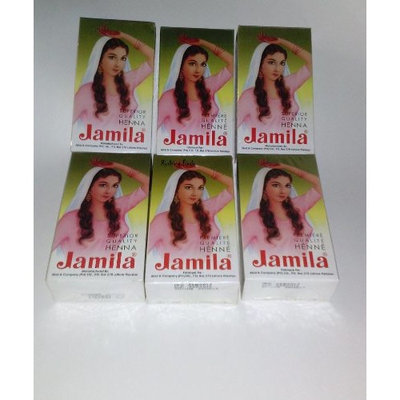 Jamila Henna Powder, 6 Individual Packs