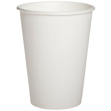 Dixie PerfecTouch 5342W Insulated Paper Hot or Cold Cup, 12 oz, White (Case of 20 packs, 50 cups per pack)