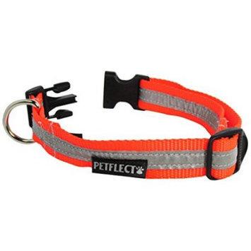Starline Global Petflect Fluorescent Orange Reflective Collar