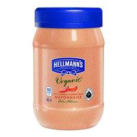 HELLMANN'S Organic Spicy Chipotle Mayonnaise, 443ml