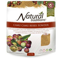 Natural Traditions Camu Camu Berries Powder Pouch, 3.5 Ounce