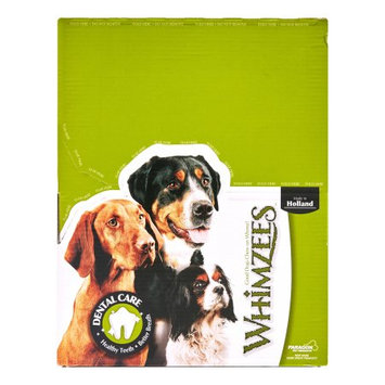 Paragon Pet Products Usa Inc- Paragon Pet Products Usa WZ01483 Whimzee Toothbrush Extra Large 18 Per Bulk