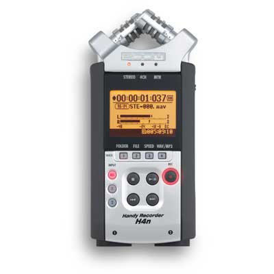 H4n Pro Handy Mobile 4-Track Recorder