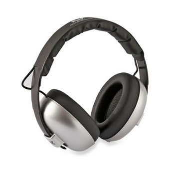 Banz Two-Tone Rechargeable Mini Earmuffs-GREY-One Size