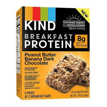 KIND Breakfast Protein Bars, Peanut Butter Banana, Gluten Free, Non GMO, 1.76oz, 32 Count [Peanut Butter Banana Protein]