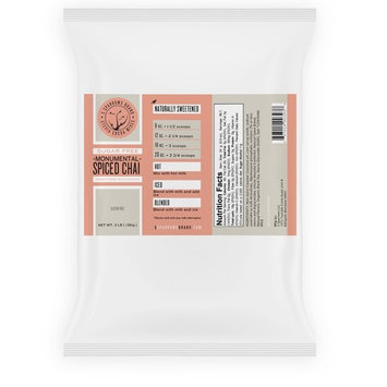 Sugar Free Monumental Spiced Chai, Naturally Sweetened with Stevia & Erythritol (Erythritol-Blend, 3 lb)