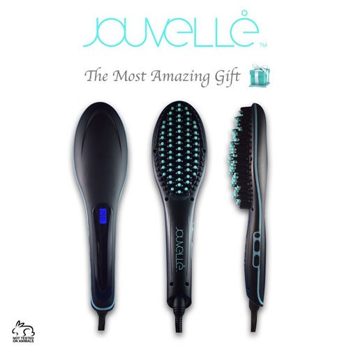 Jouvelle Hair Brush Straightener