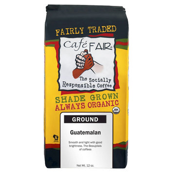 Caf Fair Guatemalan, Ground Coffee, 12 oz