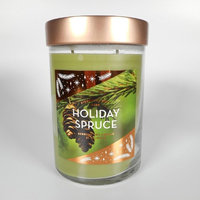 Signature Soy Candle Holiday Spruce - 21 oz, Green