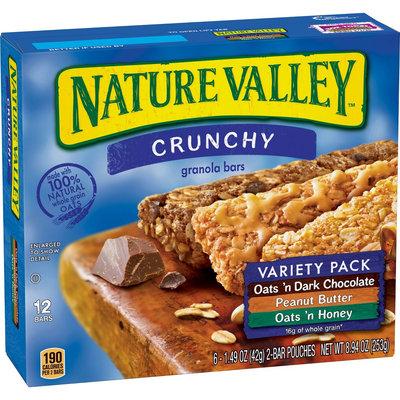 General Mills Natr Val Bar Variety Pack 8.9OZ
