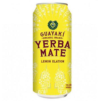 Guayaki Yerba Mate Lemon Elation 16 oz Cans - Pack of 12