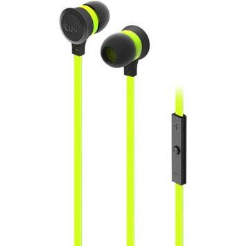 iLuv IEP335GRNN Neon Sound Highperform Earphoneaccs Green