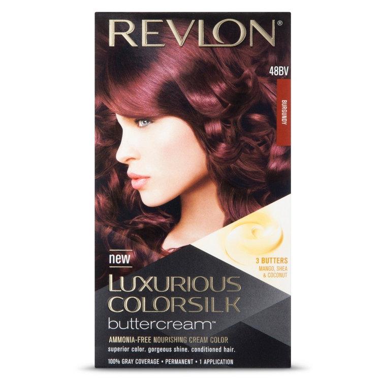 Revlon Luxurious Colorsilk Buttercream Haircolor Burgundy Red