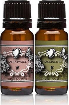 Eternal Essence Oils Scented Oils - Pair of Essence - Sandalwood & Frankincense - 10 Ml