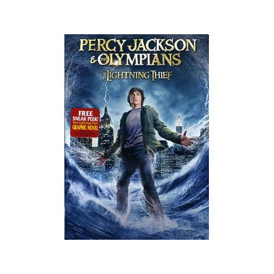Percy Jackson & The Olympians: Lightning Thief DVD