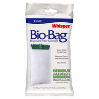 Tetra Whisper Bio-Bag Disposable Filter Cartridge, Medium, Pack of 1 cartridge