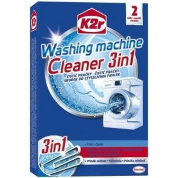 Henkel K2r Washing Machine Cleaner & Descaler, 4 Doses (2 x 2)