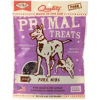 Primal Jerky Pork Nibs Dog & Cat Treats, 4-Ounce Bag