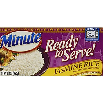 Minute Ready To Serve Jasmine Rice Microwaveable (1-PACK) (2-BOWLS)