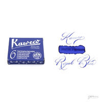 Pk/6 Kaweco Fountain Pen Ink Cartridges, Royal Blue (Indigo)