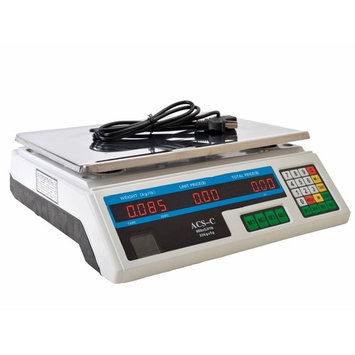 TMS 60 LB Digital Scale Price Computing Deli Food Produce Electronic Counting Weight