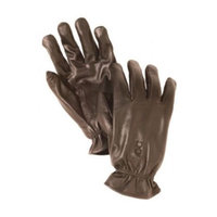 Bob Allen Leather Unlined Gloves (Brown, Large)