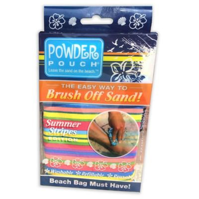 Powder Pouch Sand Remover - Pink