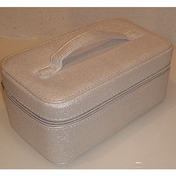 Bareminerals Large Cosmetic Travel Case Bag Shiny White