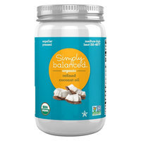 Refined Coconut Oil 14oz - Simply Balanced