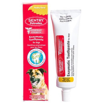 Petrodex Enzymatic Toothpaste for Dogs - Poultry Flavor: BULK - 12 Pa