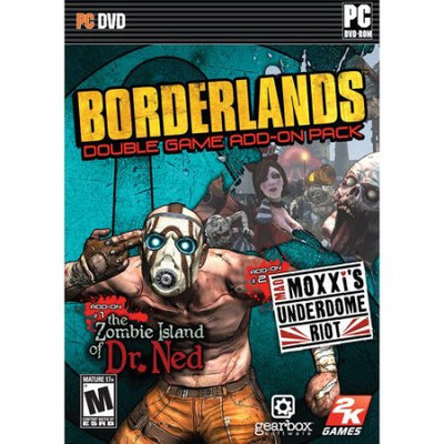 2k Games Borderlands Add-on Pack Zombie Island of Dr Ned &