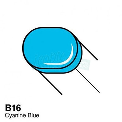 Copic B16-S Sketch Cyanine Blue Marker