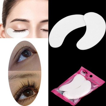 Professional Eyelash Pads Iusun Lint Free Under Eye Gel Pad Patches for Eyelash Extensions