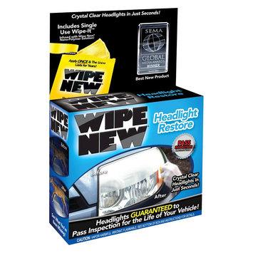 As Seen on TV Wipe New Headlight Restore