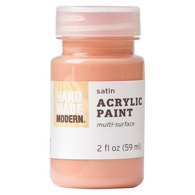 Plaid Enterprises, Inc. Hand Made Modern - 2oz Acrylic Paint - Satin - Coral