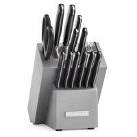 KitchenAid Triple Rivet 12-Piece Cutlery Set - KKFTR14, Silver
